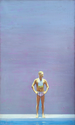 Painting of an Olympic Champion, 1965